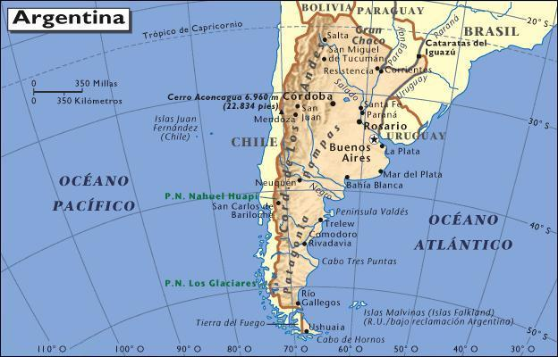 Argentina Provinces Learn The Provinces And Capitals Of Argentina - Argentina map tucuman