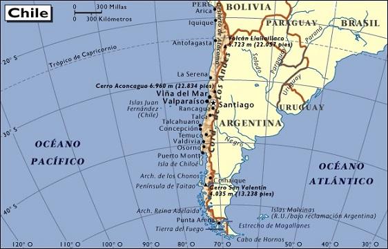 Aprende las regiones y las provincias de chile elabueloeduca mapa de chile chile se encuentra organizado polticamente en 15 regiones subdivididas en 54 provincias la ciudad de santiago es la capital de la nacin y sciox Choice Image