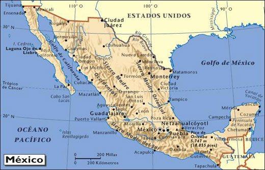Aprende los Estados y las Capitales de México